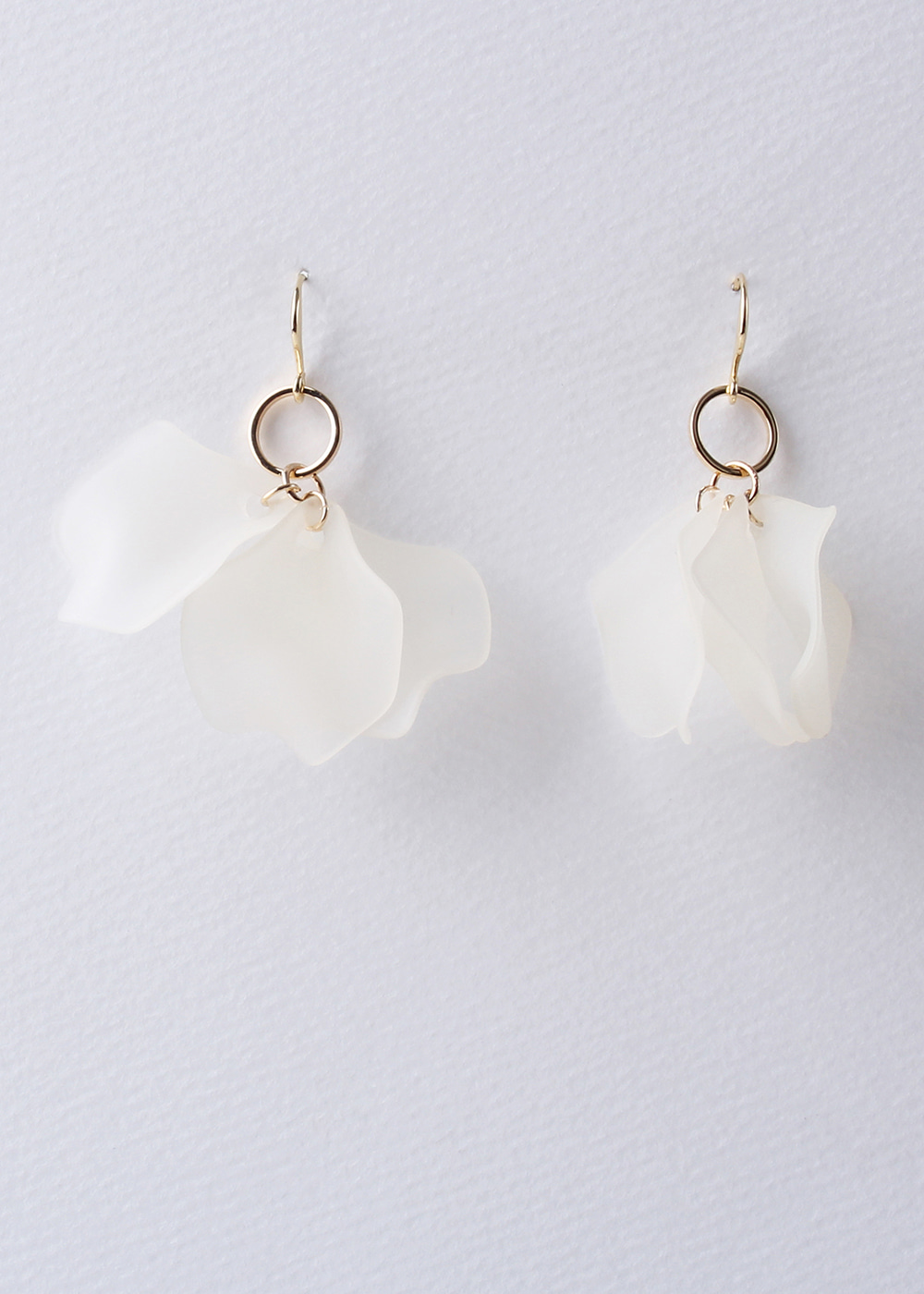 Powder Petal Earrings