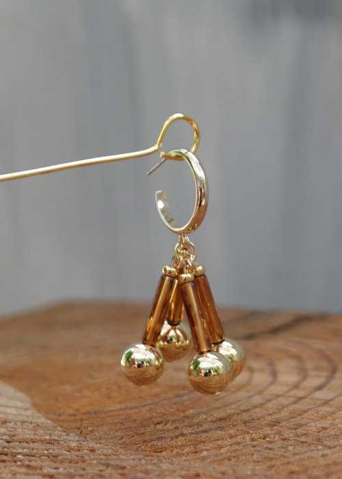 oldie bell earrings