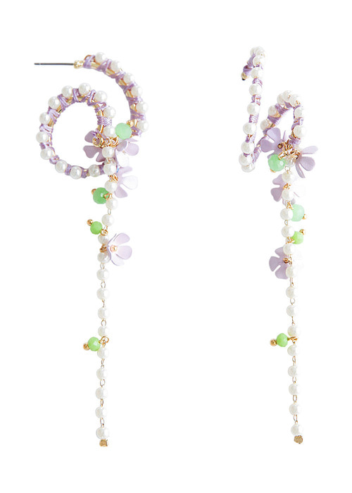 Violet Moos Earrings