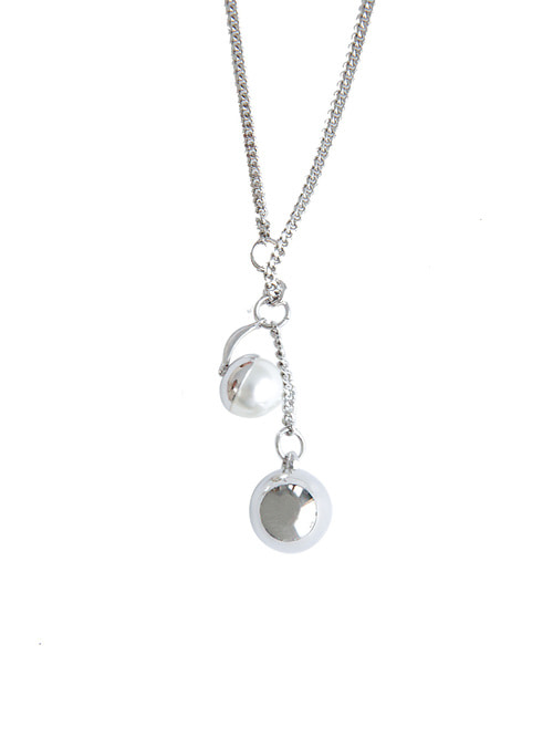Pendulum Ball Necklace