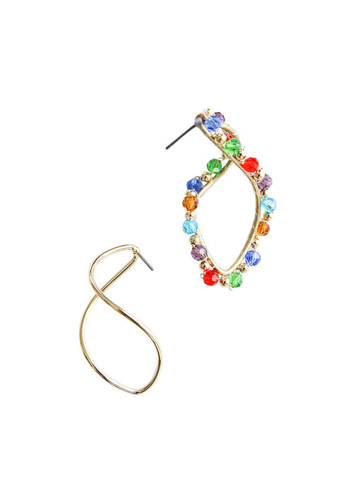 Rainbow Dancing Earrings