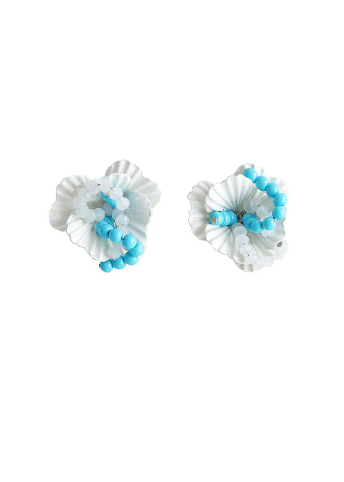Ice Flower Earrings